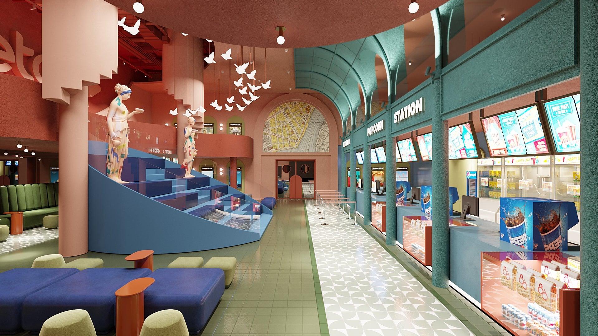 Beta Cinemas Quang Trung, rạp phim mới ở TP HCM mang phong cách Artistic Urban Lifestyle - Ảnh 2.