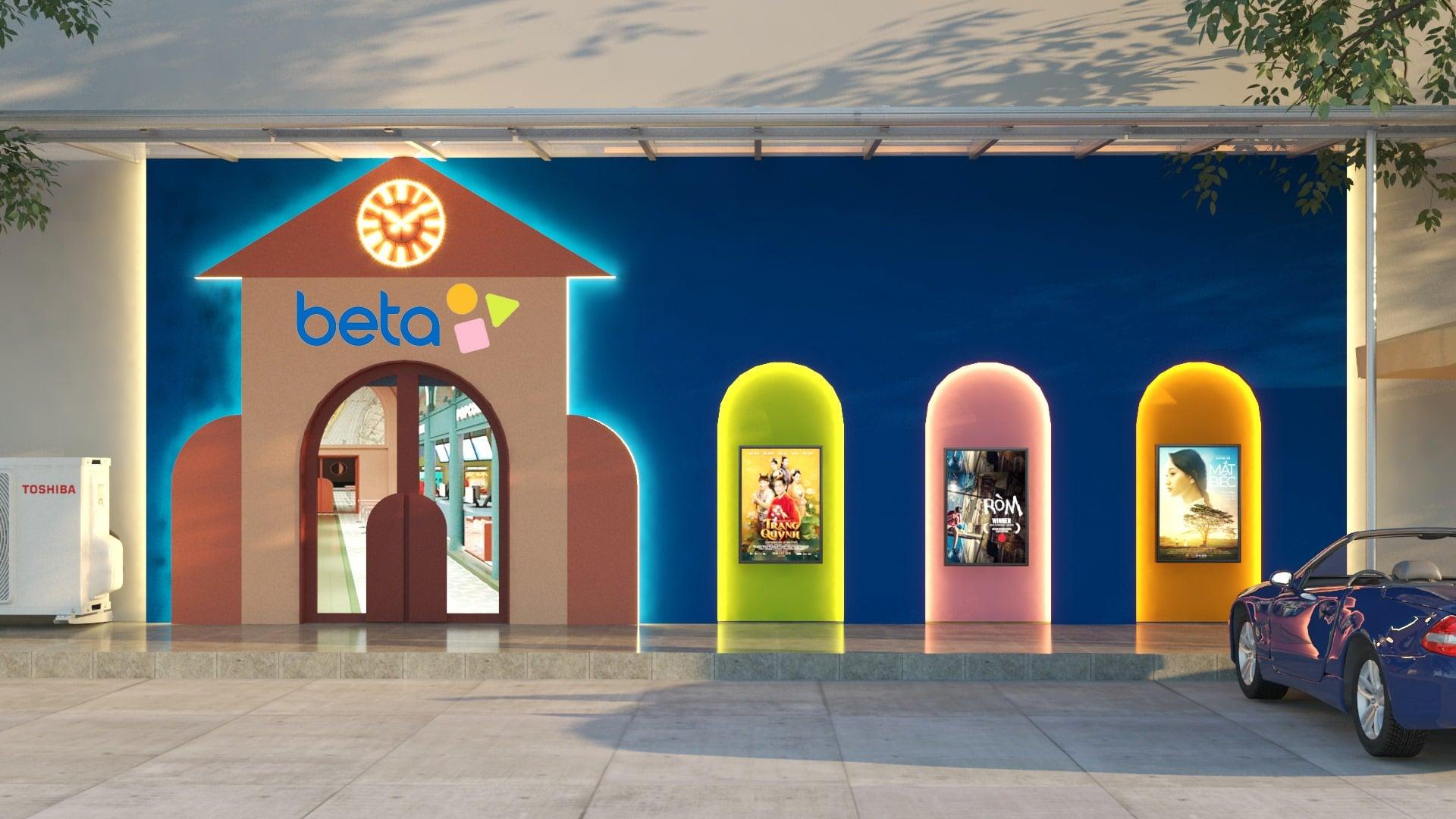 Beta Cinemas Quang Trung, rạp phim mới ở TP HCM mang phong cách Artistic Urban Lifestyle - Ảnh 1.