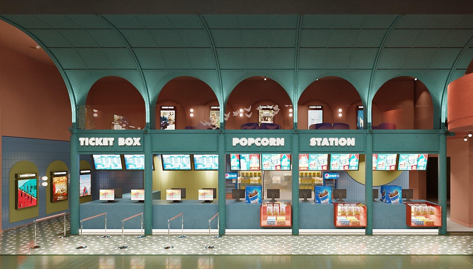 Beta Cinemas Quang Trung, rạp phim mới ở TP HCM mang phong cách Artistic Urban Lifestyle - Ảnh 3.