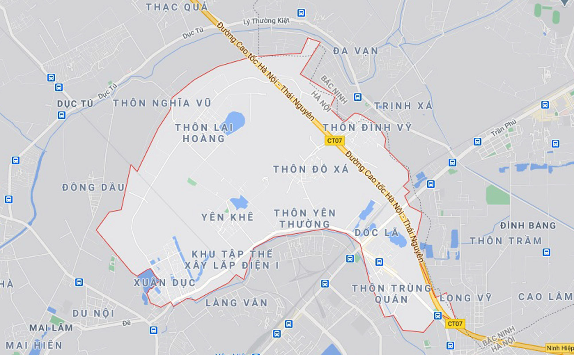 Ba đường sẽ mở theo quy hoạch ở xã Yên Thường, Gia Lâm, Hà Nội - Ảnh 1.