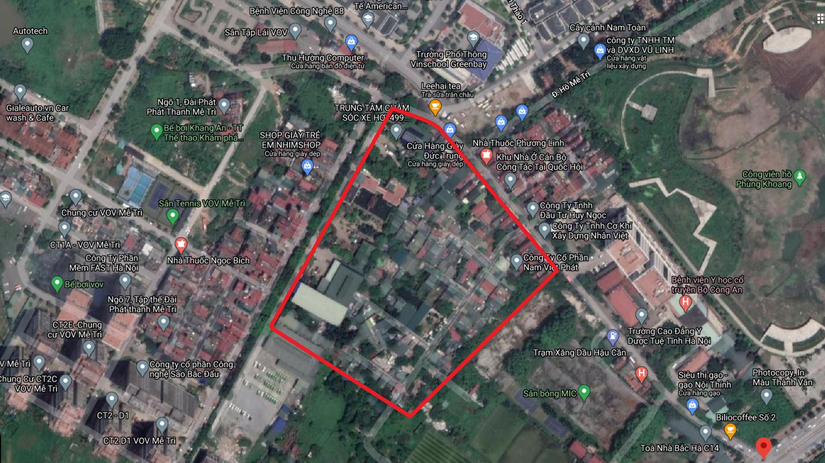 Đất dính quy hoạch phường Mễ Trì, Nam Từ Liêm, Hà Nội - Ảnh 2.