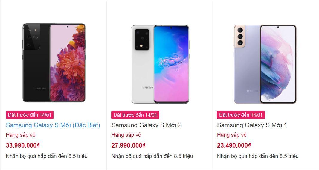 Chưa chào khán giả, loạt Samsung Galaxy mới đã niêm yết với giá từ 23 triệu đồng - Ảnh 1.