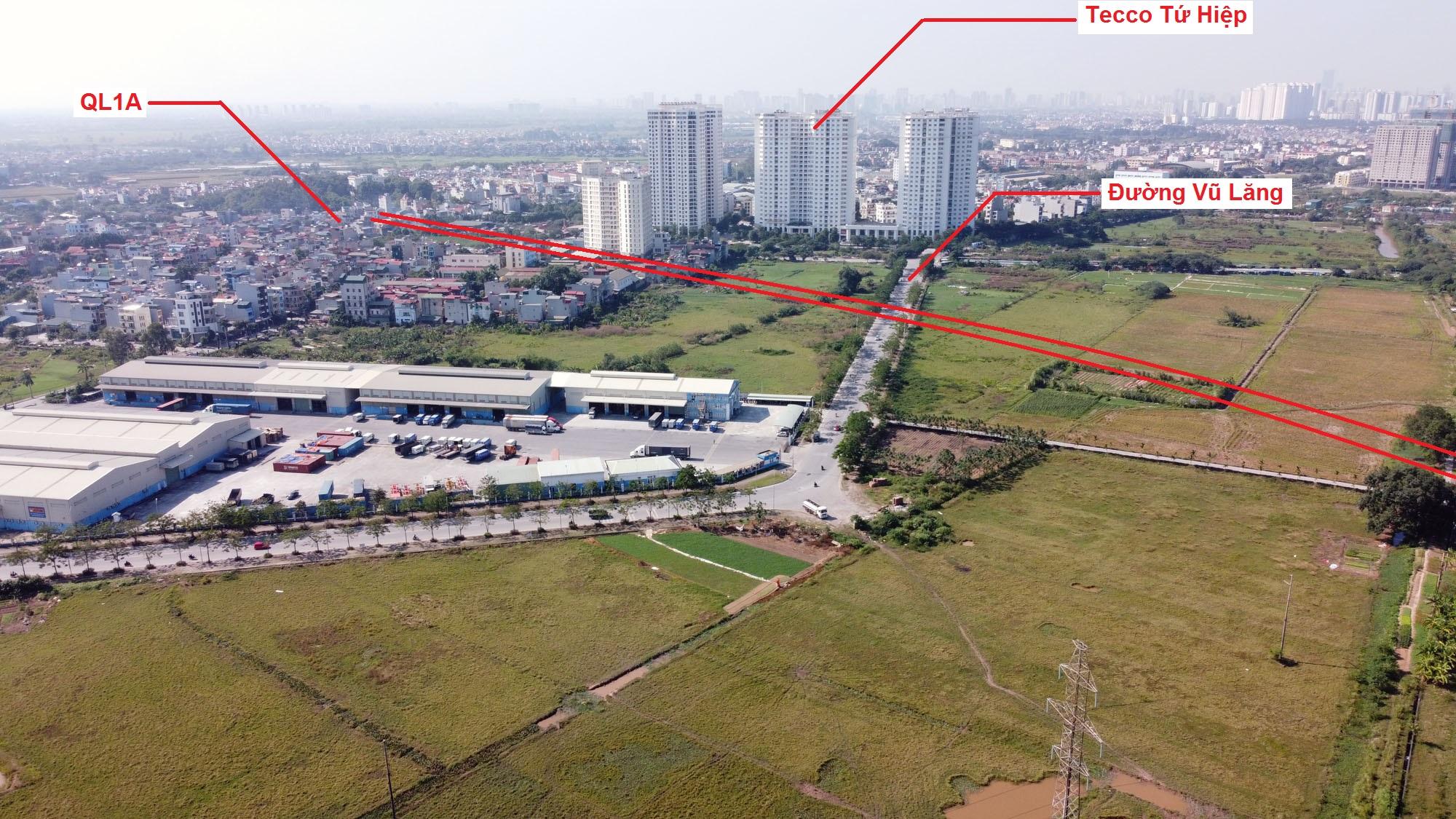 đường sẽ mở theo quy hoạch ở xã Ngũ Hiệp, Thanh Trì, Hà Nội - Ảnh 4.