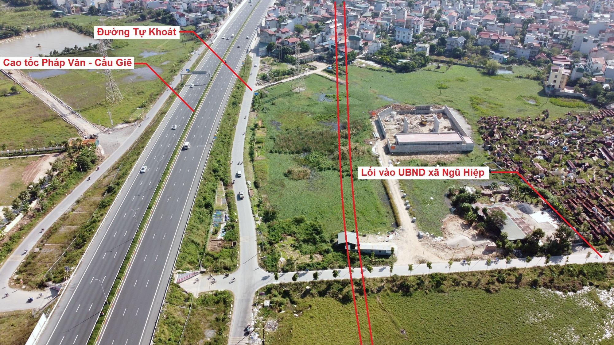 đường sẽ mở theo quy hoạch ở xã Ngũ Hiệp, Thanh Trì, Hà Nội - Ảnh 9.