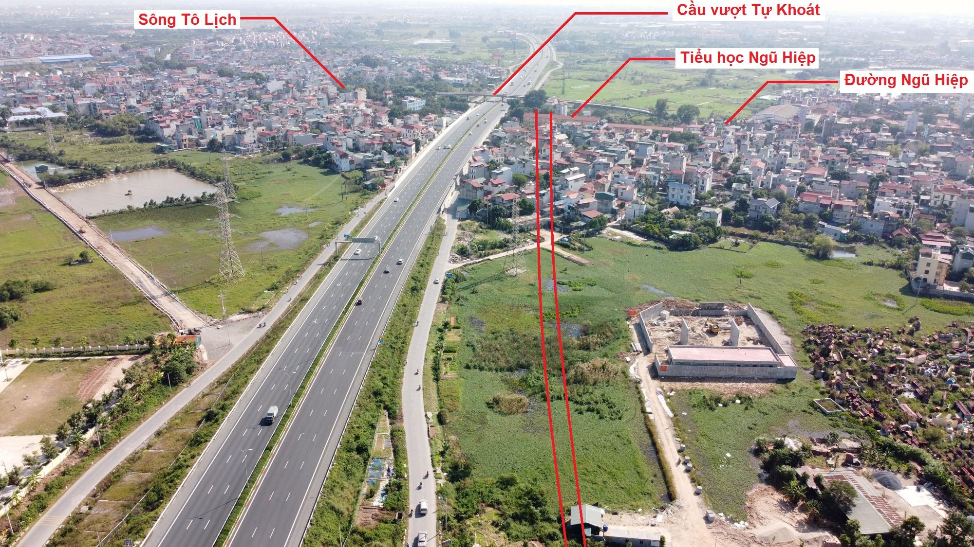 đường sẽ mở theo quy hoạch ở xã Ngũ Hiệp, Thanh Trì, Hà Nội - Ảnh 10.