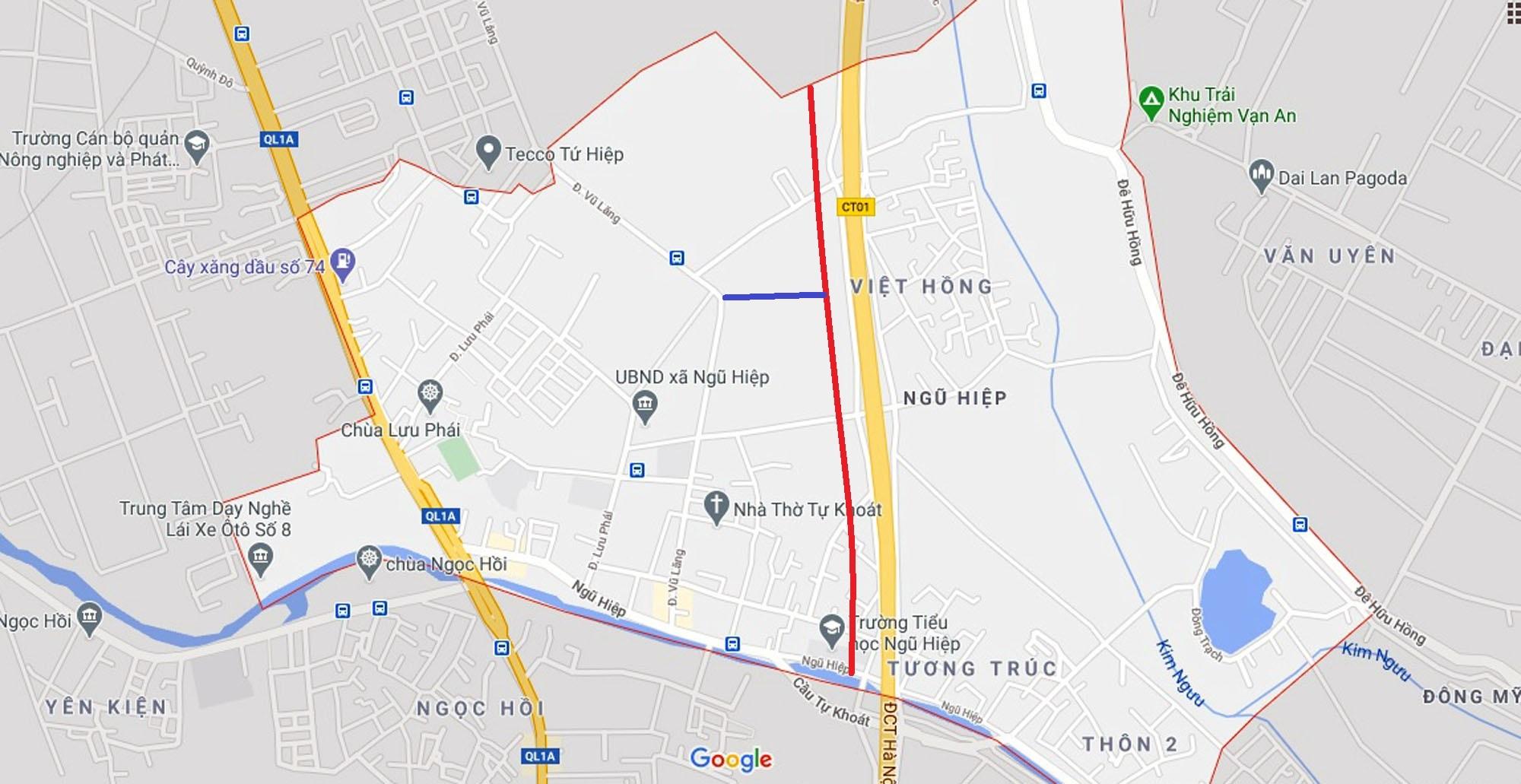 Ba đường sẽ mở theo quy hoạch ở xã Ngũ Hiệp, Thanh Trì, Hà Nội - Ảnh 11.