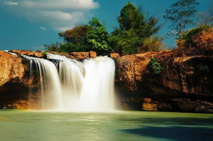 Mê mẩn vẻ đẹp Tây Nguyên hoang sơ, hùng vĩ của thác D'ray Sap - Ảnh 6.