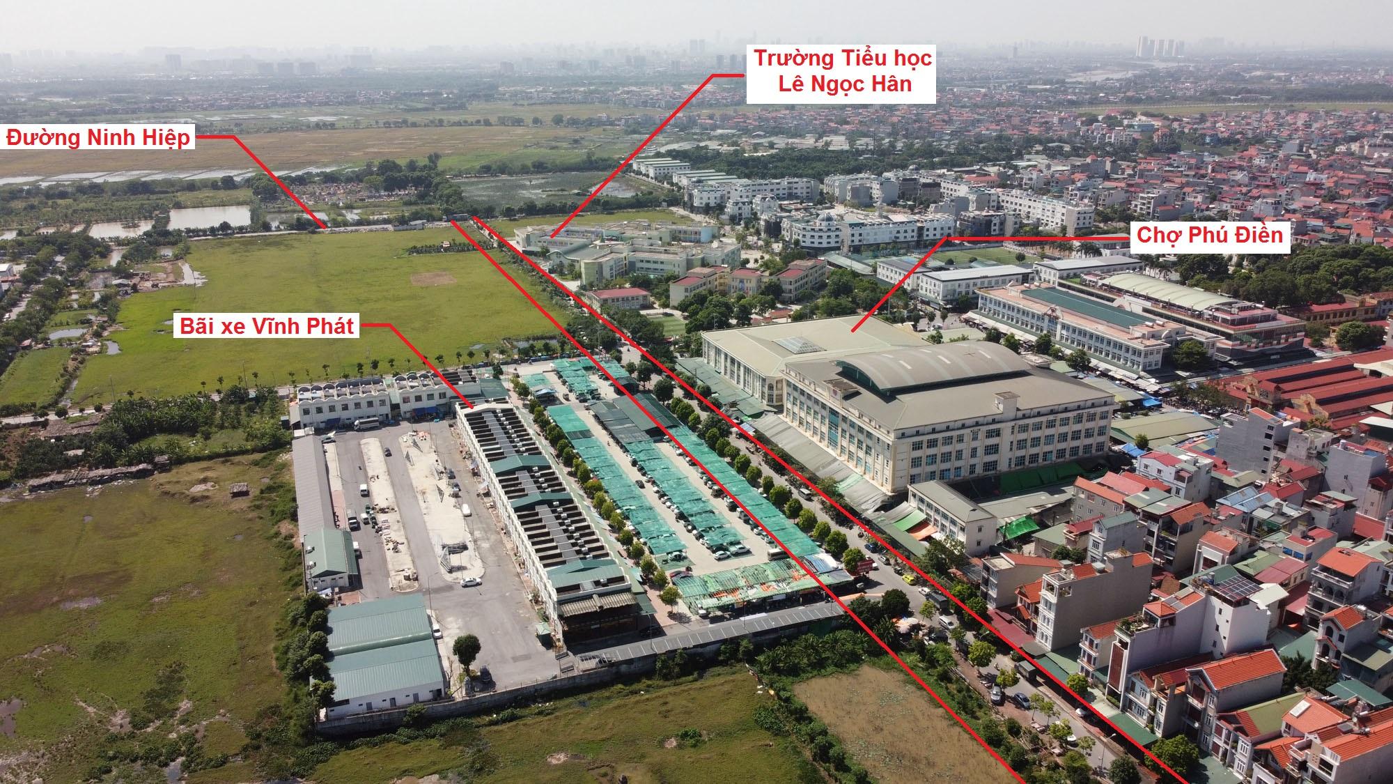 Ba đường sẽ mở theo quy hoạch ở xã Ninh Hiệp, Gia Lâm, Hà Nội - Ảnh 3.