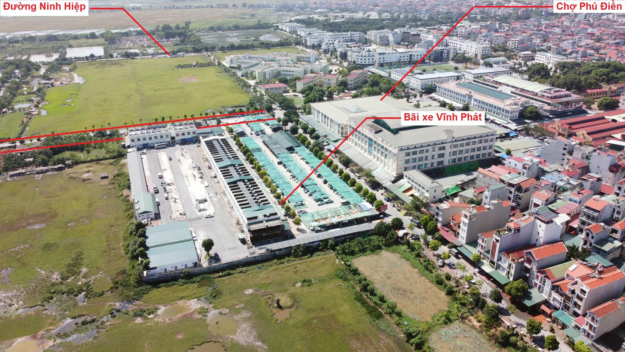 Ba đường sẽ mở theo quy hoạch ở xã Ninh Hiệp, Gia Lâm, Hà Nội - Ảnh 6.