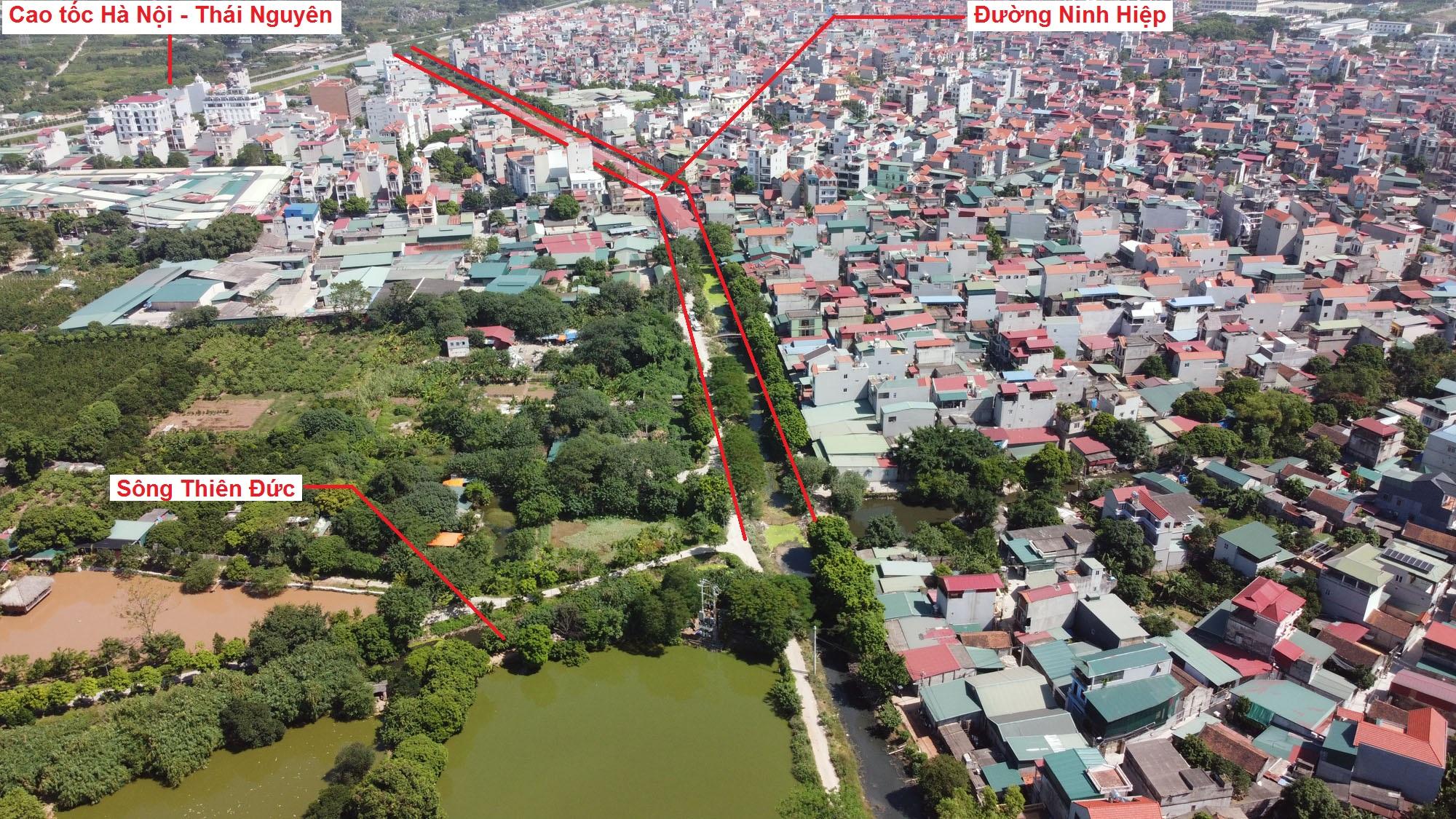 Ba đường sẽ mở theo quy hoạch ở xã Ninh Hiệp, Gia Lâm, Hà Nội - Ảnh 9.