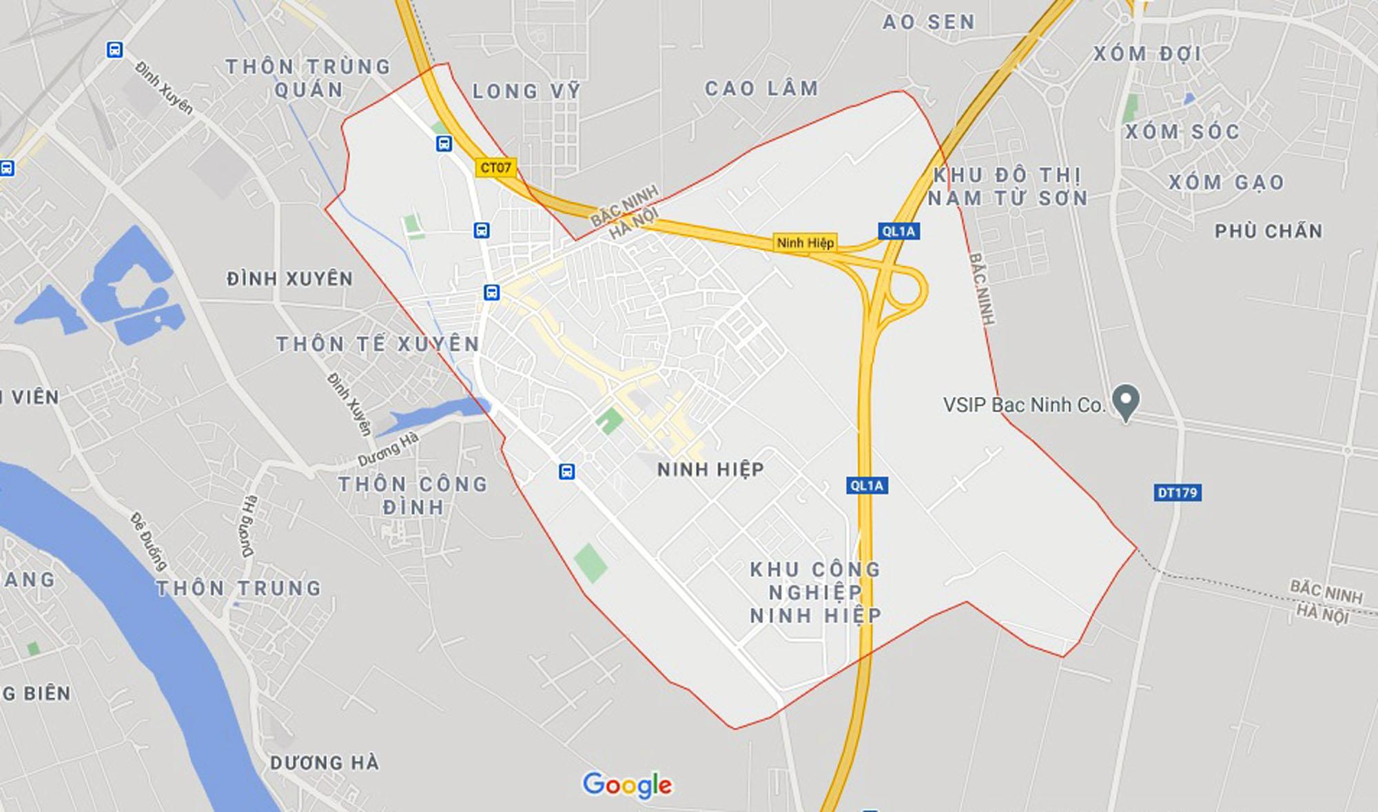 Ba đường sẽ mở theo quy hoạch ở xã Ninh Hiệp, Gia Lâm, Hà Nội - Ảnh 1.