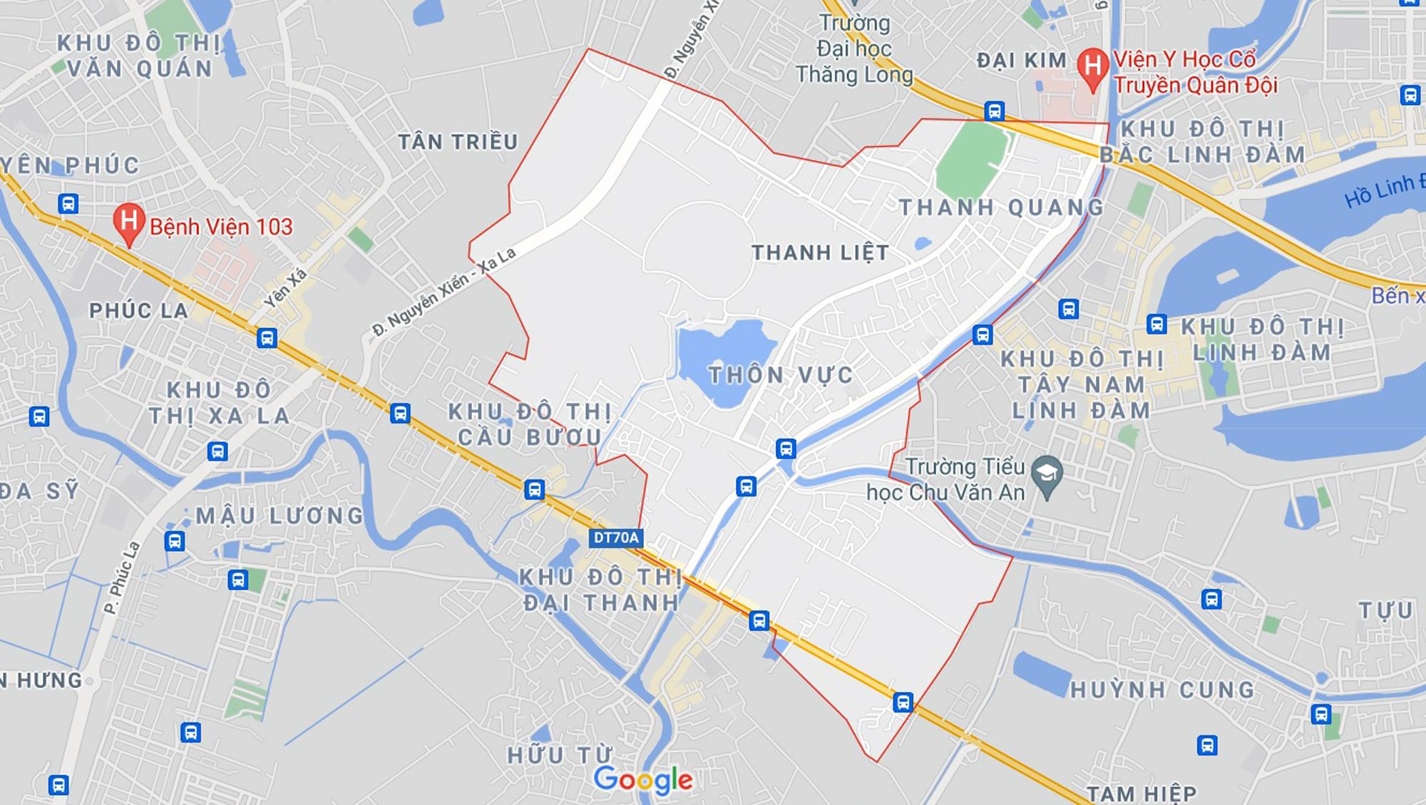 Những khu đất sắp thu hồi để mở đường ở xã Thanh Liệt, Thanh Trì, Hà Nội (phần 4) - Ảnh 1.