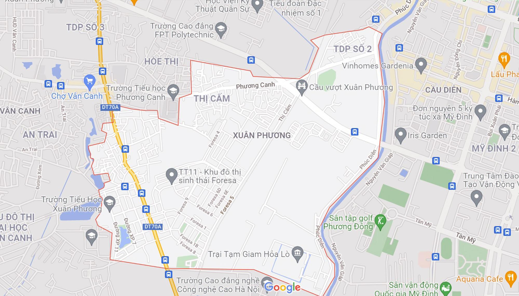 Những khu đất sắp thu hồi để mở đường ở phường Xuân Phương, Nam Từ Liêm, Hà Nội (phần 8) - Ảnh 1.