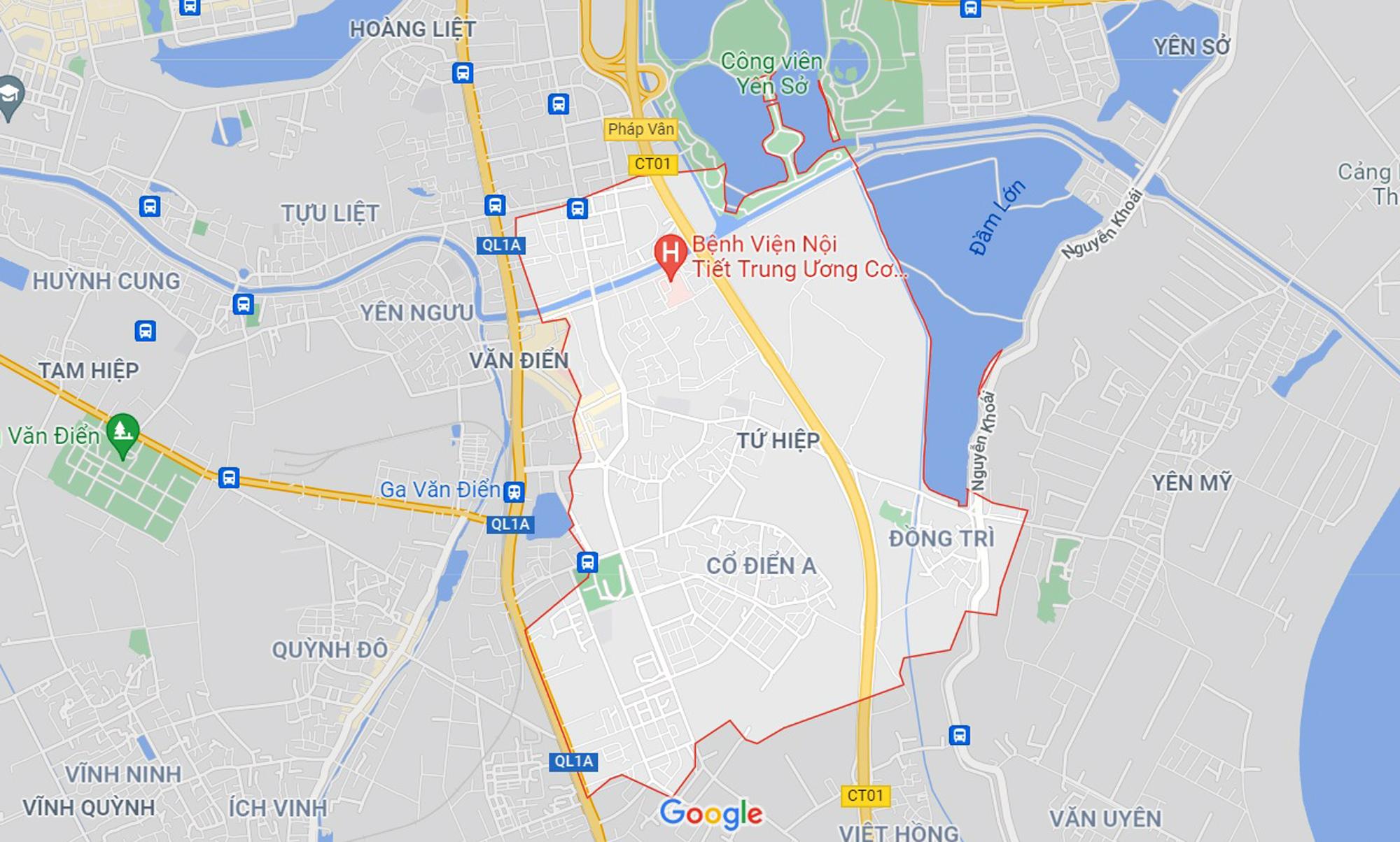 Những khu đất sắp thu hồi để mở đường ở xã Tứ Hiệp, Thanh Trì, Hà Nội (phần 4) - Ảnh 1.