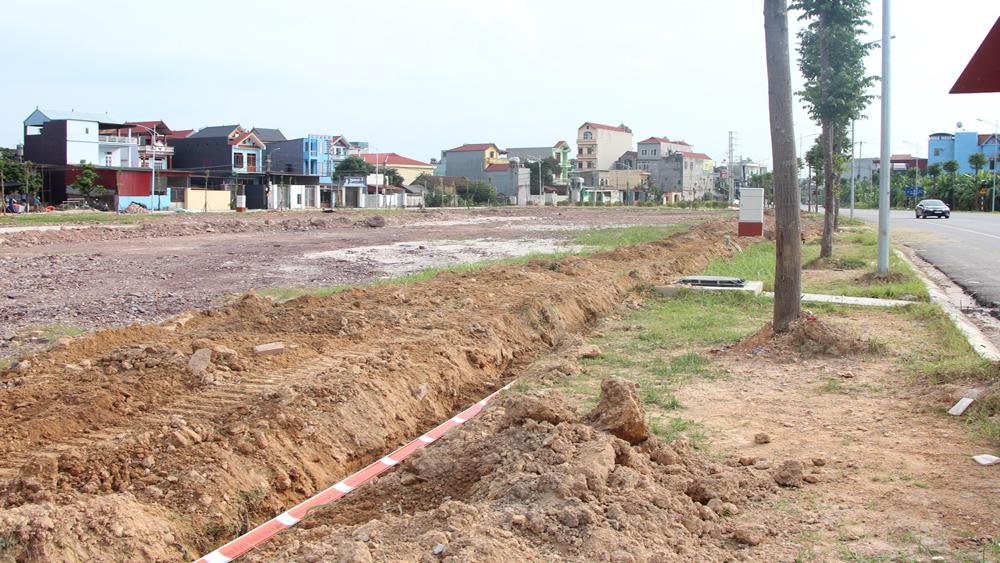 Giá đất ven khu công nghiệp Bắc Giang nóng dần sau các phiên đấu giá - Ảnh 1.