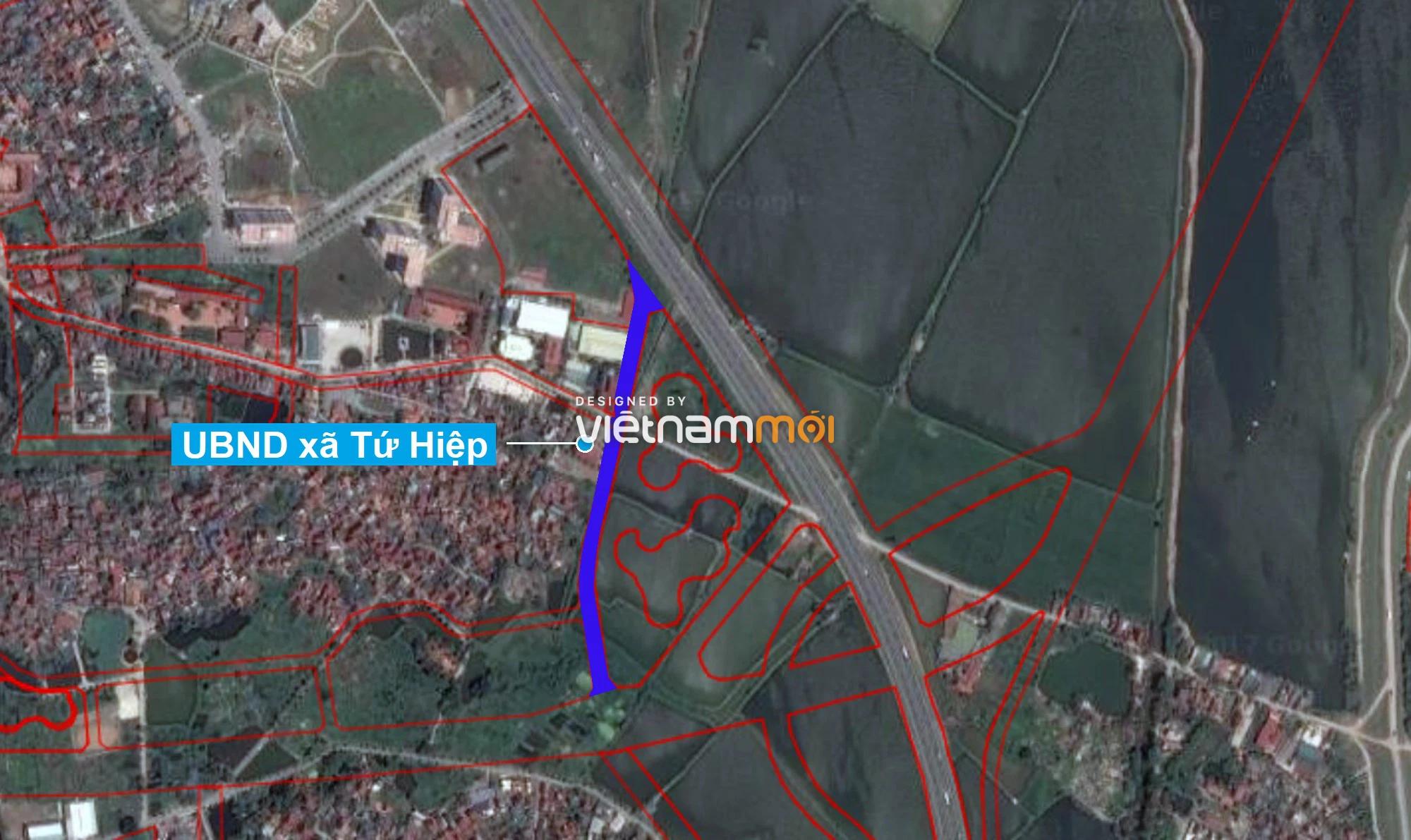 Những khu đất sắp thu hồi để mở đường ở xã Tứ Hiệp, Thanh Trì, Hà Nội (phần 4) - Ảnh 9.