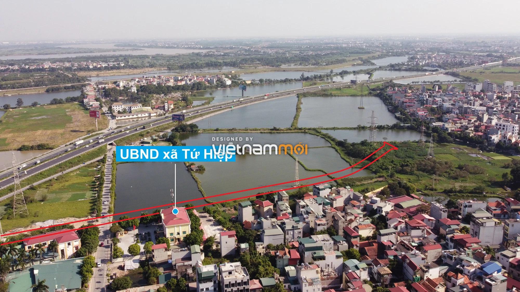 Những khu đất sắp thu hồi để mở đường ở xã Tứ Hiệp, Thanh Trì, Hà Nội (phần 4) - Ảnh 10.