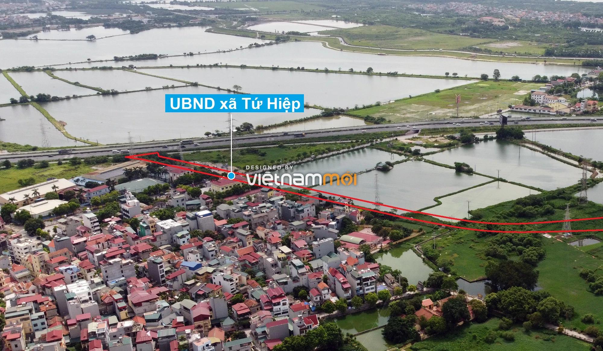 Những khu đất sắp thu hồi để mở đường ở xã Tứ Hiệp, Thanh Trì, Hà Nội (phần 4) - Ảnh 12.