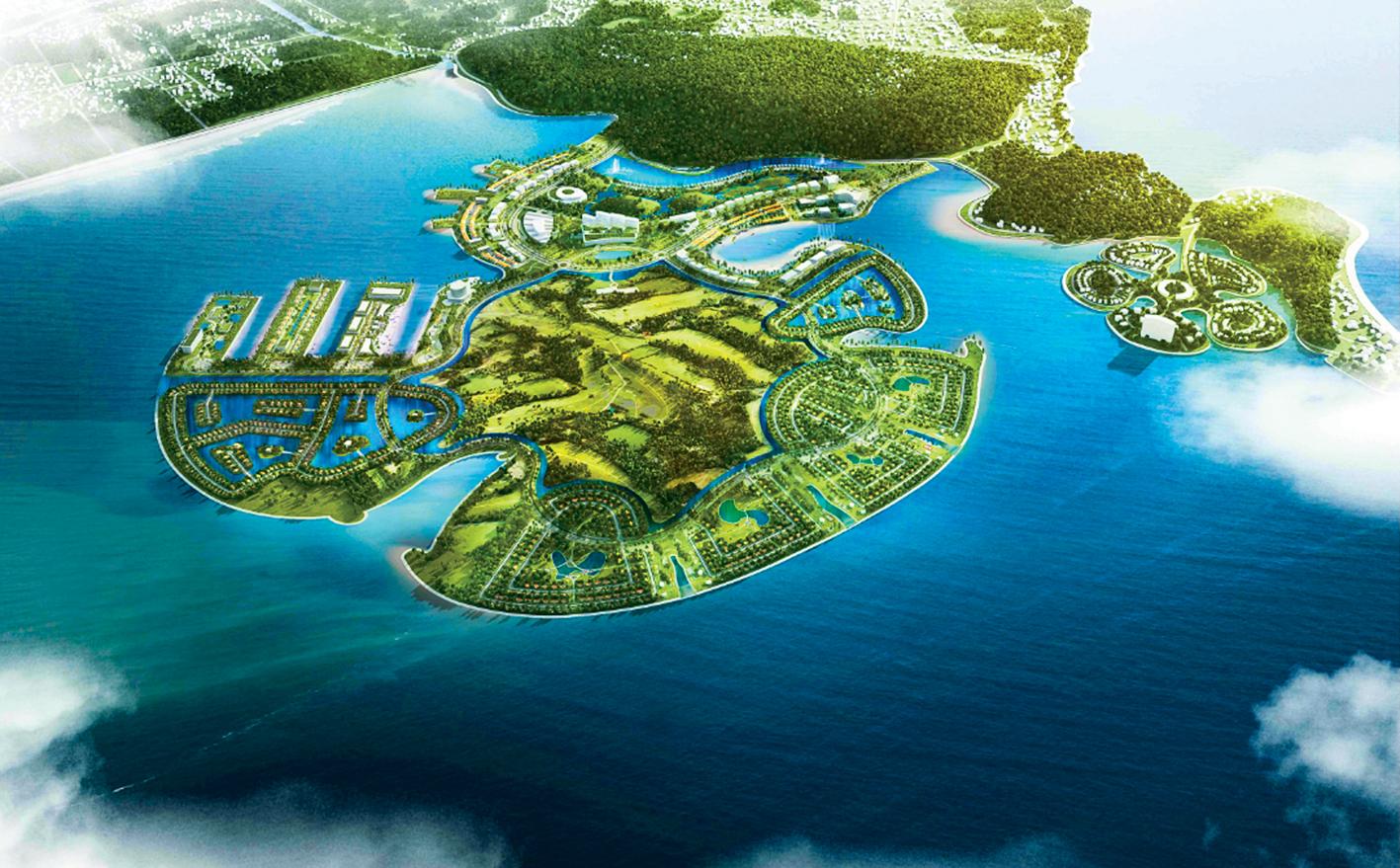 Dòng vốn chảy về dự án 25.000 tỷ của Geleximco - Ảnh 1.