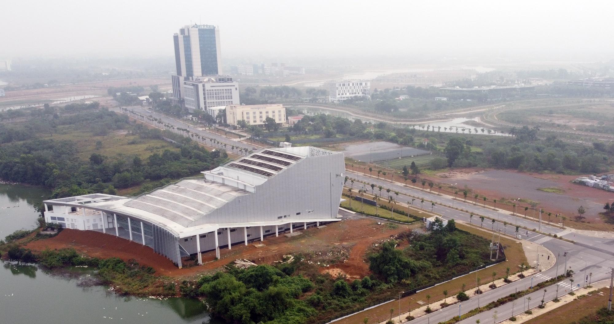 Hà Nội dự kiến đưa Hòa Lạc lên thành phố cùng với Đông Anh, Mê Linh, Sóc Sơn - Ảnh 1.