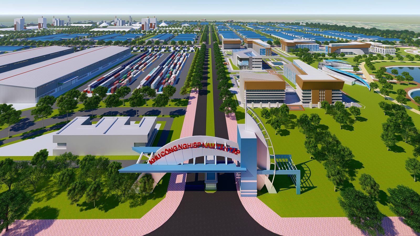 Long An trao quyết định thành lập KCN hơn 2.500 tỷ cho Saigontel - Ảnh 1.