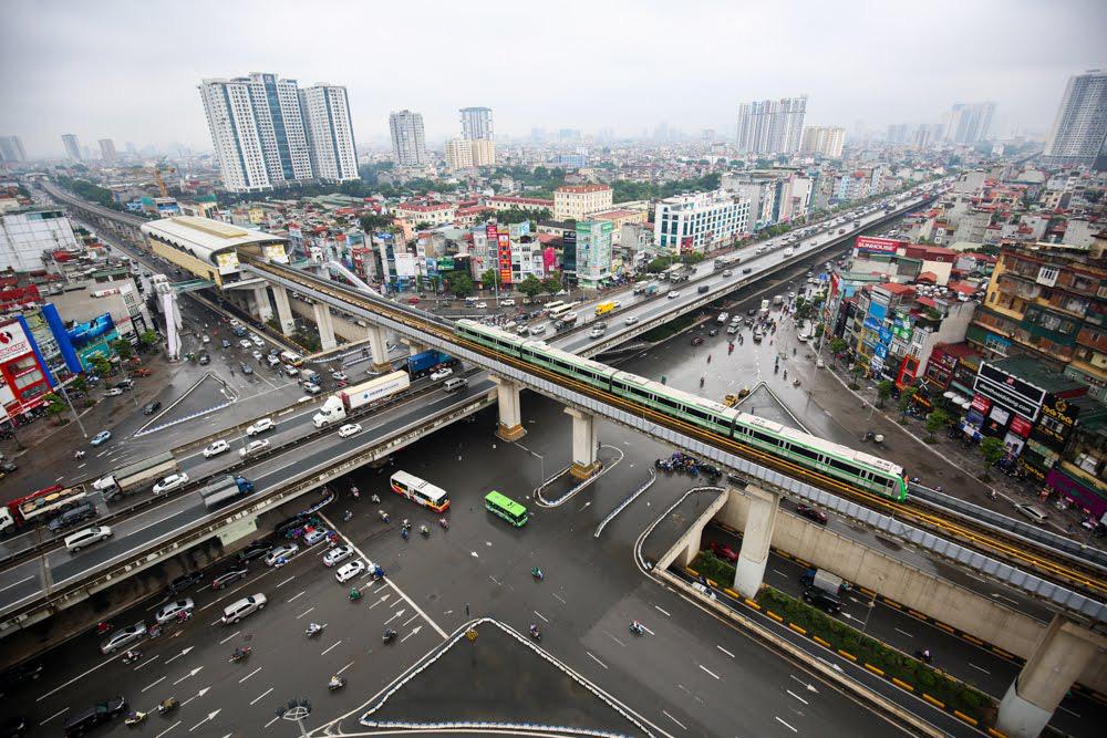 Kéo dài nhiều tuyến đường sắt đô thị Hà Nội, riêng tuyến Cát Linh - Hà Đông kéo thêm 20 km về phía Xuân Mai