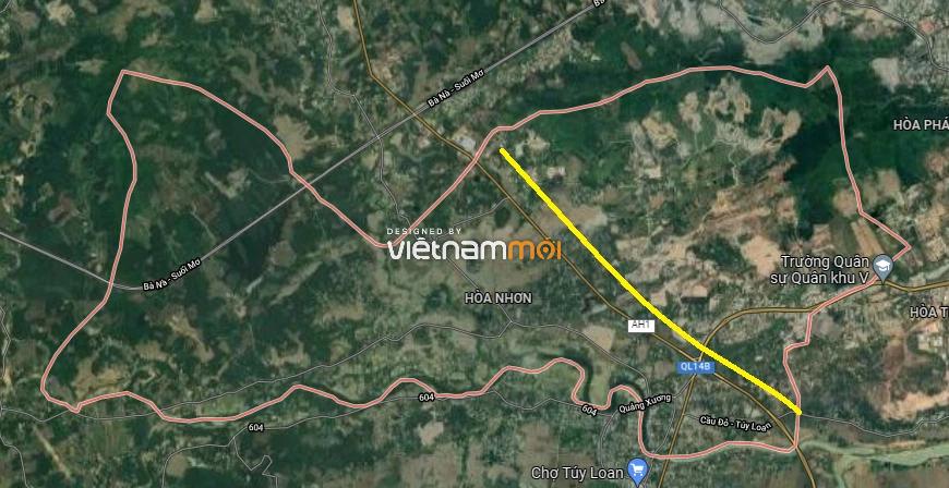 Đường sẽ mở ở xã Hoà Nhơn, huyện Hòa Vang, Đà Nẵng - Ảnh 3.