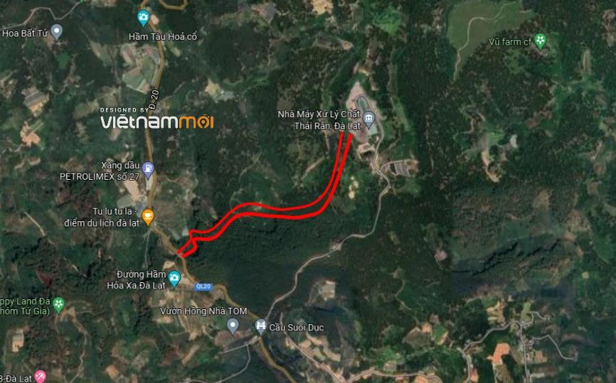 Đường sẽ mở ở xã Xuân Trường, TP Đà Lạt, tỉnh Lâm Đồng - Ảnh 3.