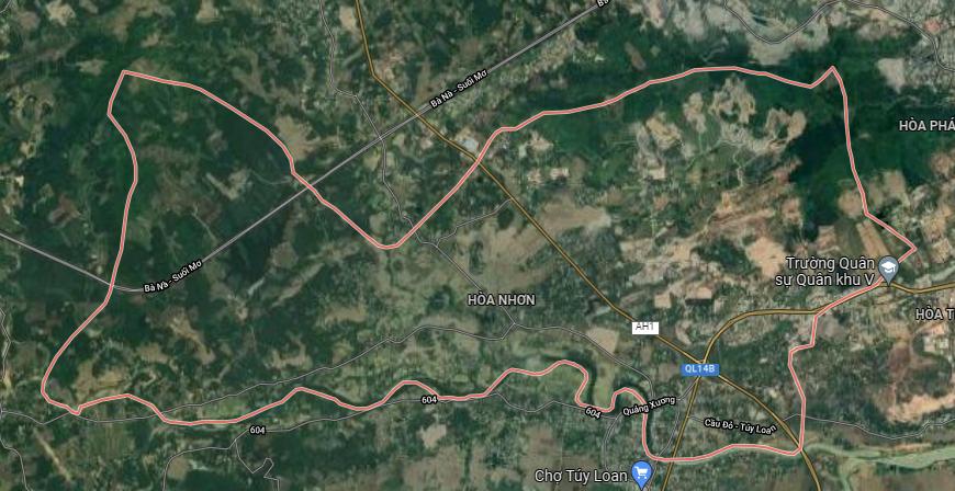 Đường sẽ mở ở xã Hoà Nhơn, huyện Hòa Vang, Đà Nẵng - Ảnh 1.
