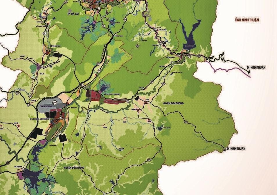 Bản đồ quy hoạch sử dụng đất huyện Đơn Dương, tỉnh Lâm Đồng - Ảnh 2.