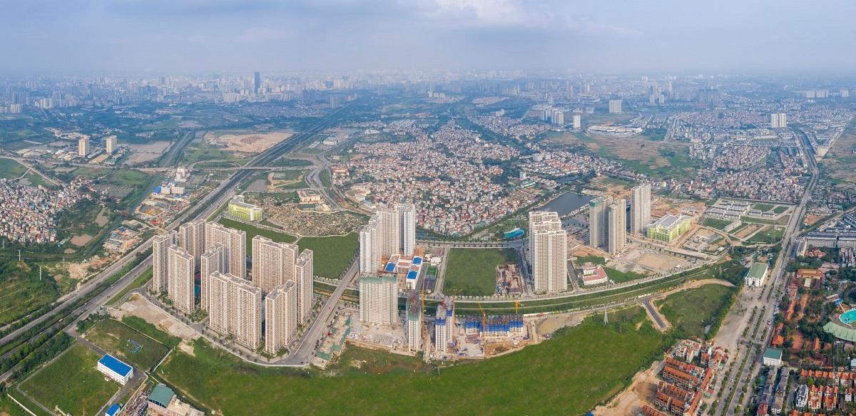 Diện mạo trung tâm hành chính, thương mại mới phía tây Thủ đô sau 10 năm quy hoạch - Ảnh 1.