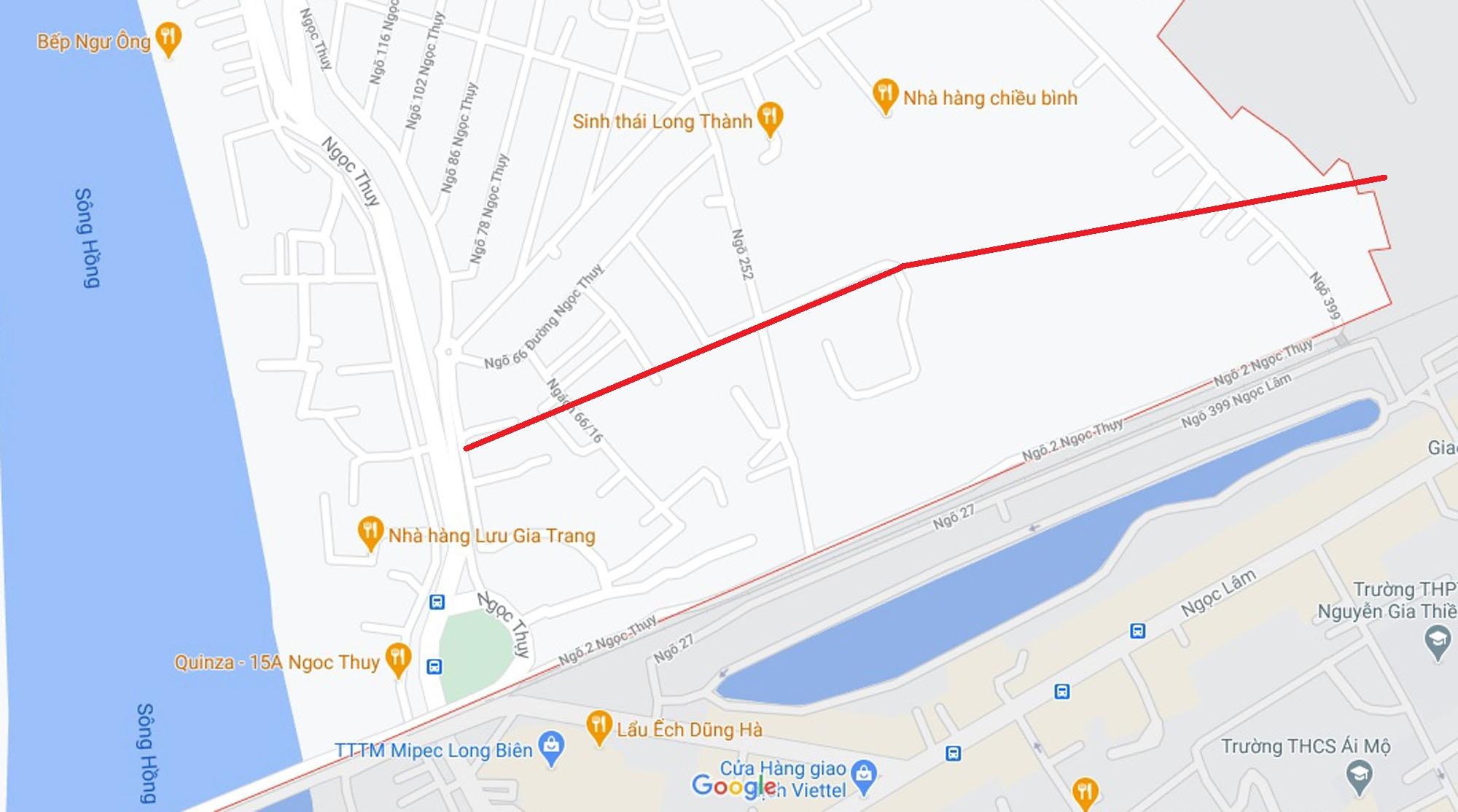 Ba đường mở theo qui hoạch ở phường Ngọc Thụy, Long Biên, Hà Nội (phần 2) - Ảnh 2.