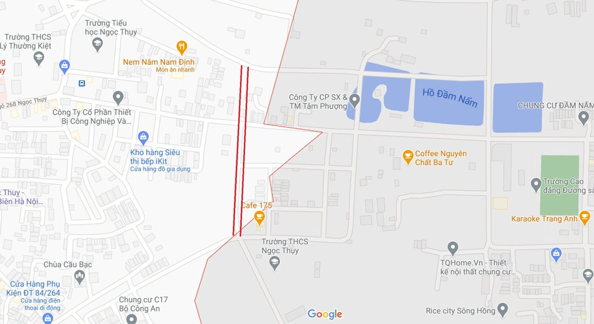 Ba đường mở theo qui hoạch ở phường Ngọc Thụy, Long Biên, Hà Nội (phần 2) - Ảnh 11.