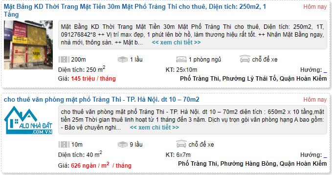 Giá đất phố Tràng Thi, Hoàn Kiếm, Hà Nội - Ảnh 7.