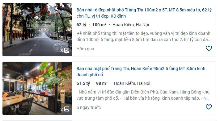 Giá đất phố Tràng Thi, Hoàn Kiếm, Hà Nội - Ảnh 4.