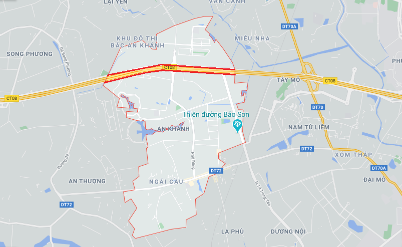 Giá đất Đại lộ Thăng Long, xã An Khánh, Hoài Đức, Hà Nội - Ảnh 2.