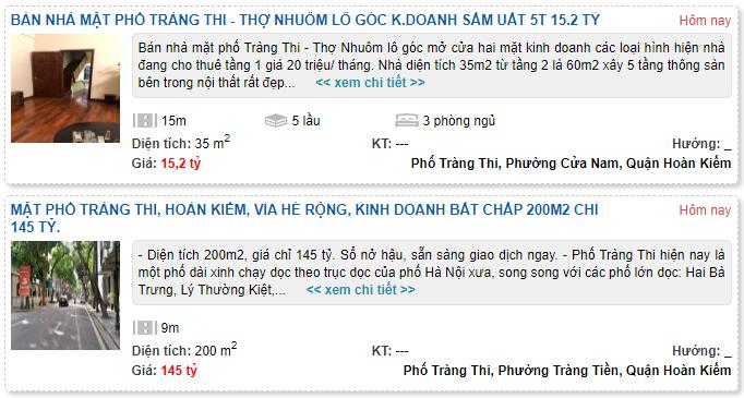 Giá đất phố Tràng Thi, Hoàn Kiếm, Hà Nội - Ảnh 5.