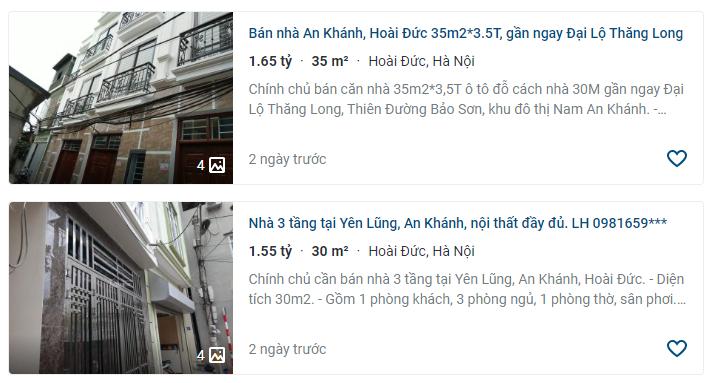 Giá đất Đại lộ Thăng Long, xã An Khánh, Hoài Đức, Hà Nội - Ảnh 4.
