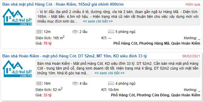 Giá đất phố Hàng Cót, Hoàn Kiếm, Hà Nội - Ảnh 4.