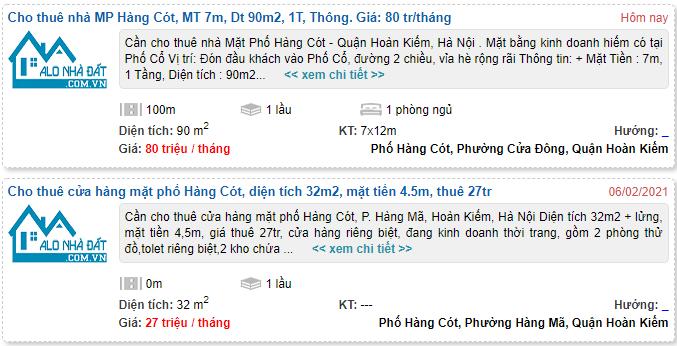 Giá đất phố Hàng Cót, Hoàn Kiếm, Hà Nội - Ảnh 6.