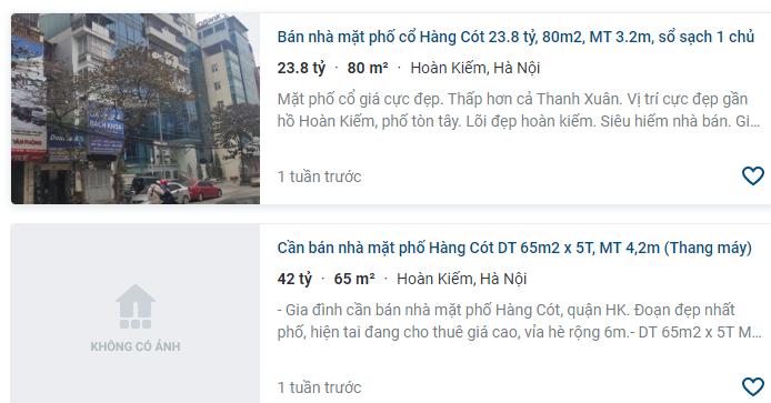 Giá đất phố Hàng Cót, Hoàn Kiếm, Hà Nội - Ảnh 3.
