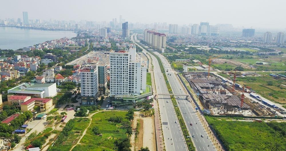 Bản đồ quy hoạch Phân khu A6 Hà Nội, quận Tây Hồ - Ảnh 1.