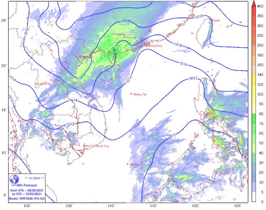 Thời tiết Hà Nội hôm nay 10/2: Không khí lạnh suy yếu, nhiệt độ tăng dần, không mưa, Hải Phòng ngày nắng - Ảnh 1.