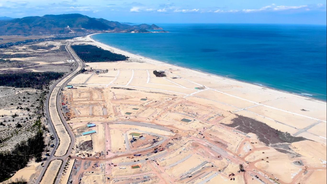 Liên danh Quốc Thắng - Phú Hiệp chiếm ưu thế dự án Khu đô thị gần 2.000 tỷ đồng tại KKT Nhơn Hội  - Ảnh 1.
