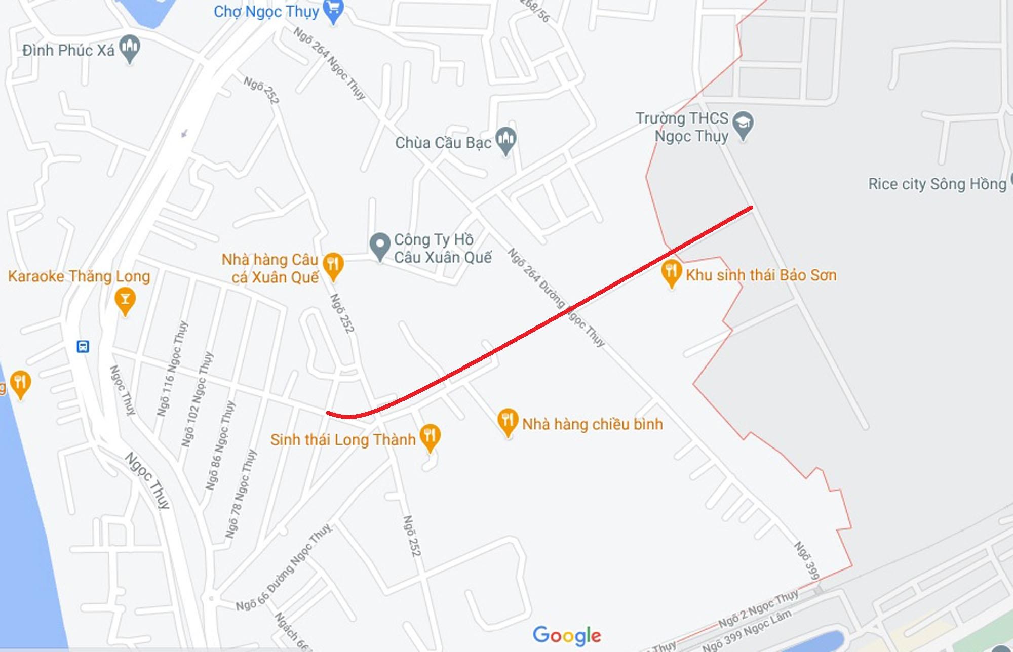 Ba đường mở theo quy hoạch ở phường Ngọc Thụy, Long Biên, Hà Nội (phần 3) - Ảnh 2.