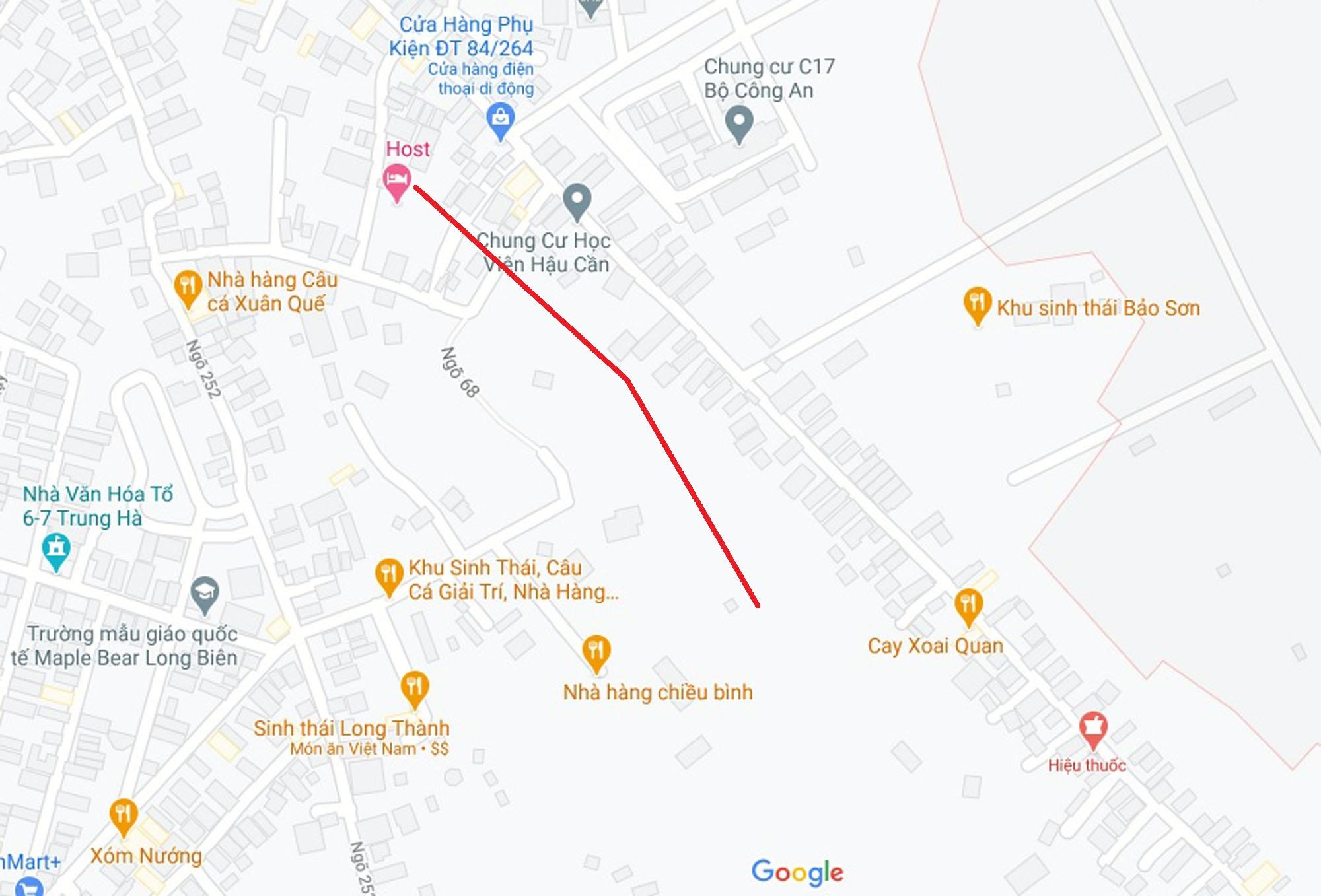 Ba đường mở theo quy hoạch ở phường Ngọc Thụy, Long Biên, Hà Nội (phần 3) - Ảnh 6.