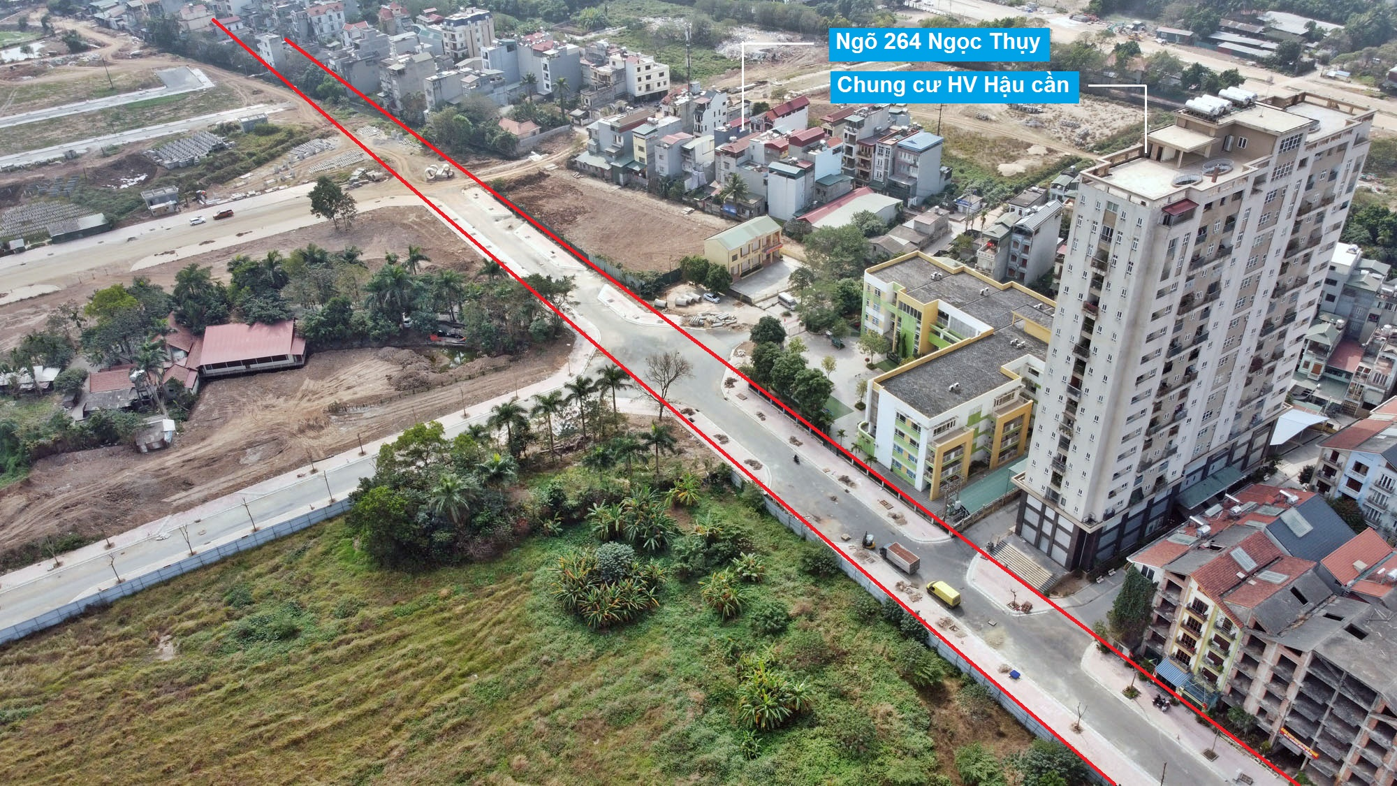Ba đường mở theo quy hoạch ở phường Ngọc Thụy, Long Biên, Hà Nội (phần 3) - Ảnh 11.