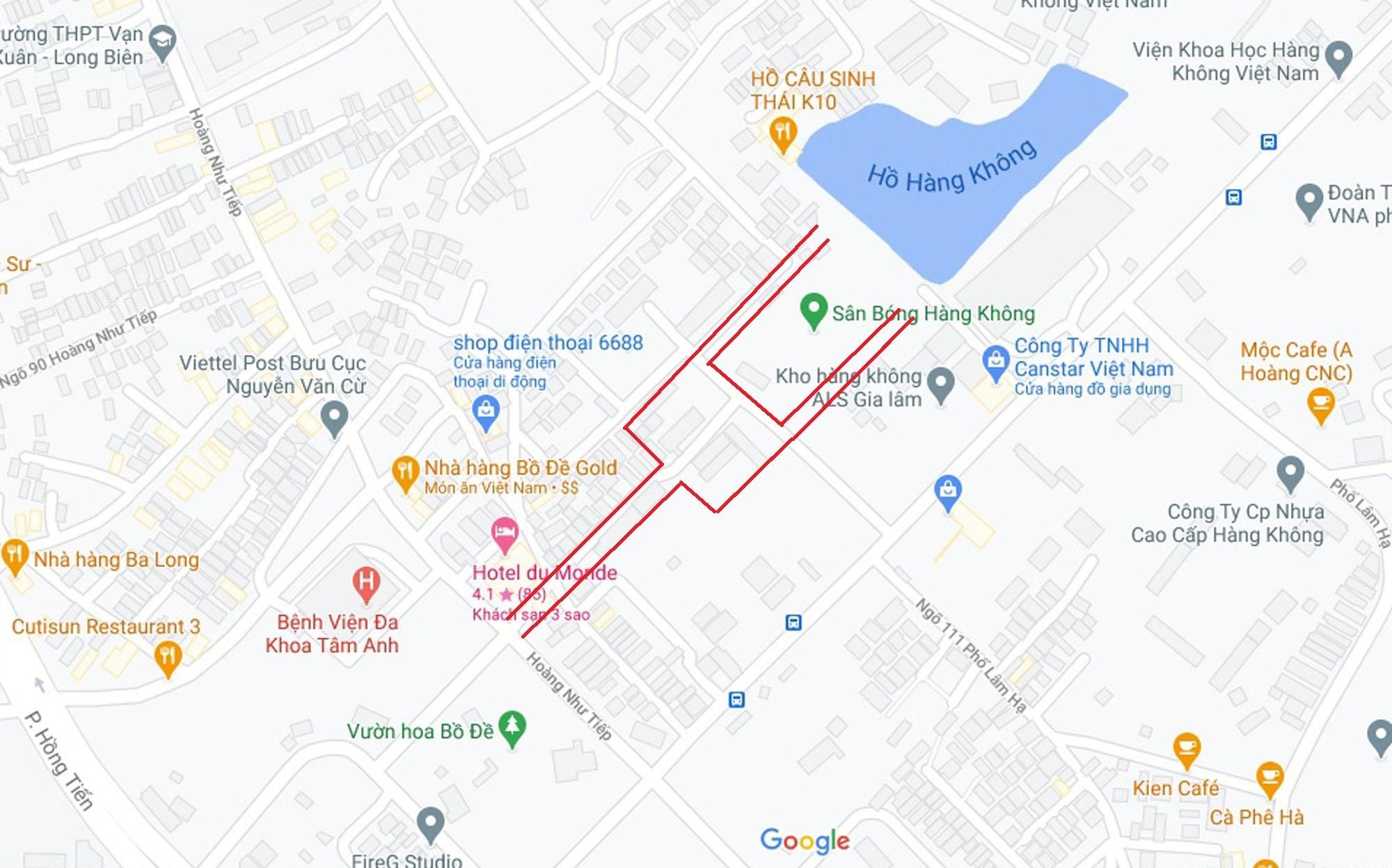 Ba đường sẽ mở theo quy hoạch ở phường Bồ Đề, Long Biên, Hà Nội (phần 4) - Ảnh 10.