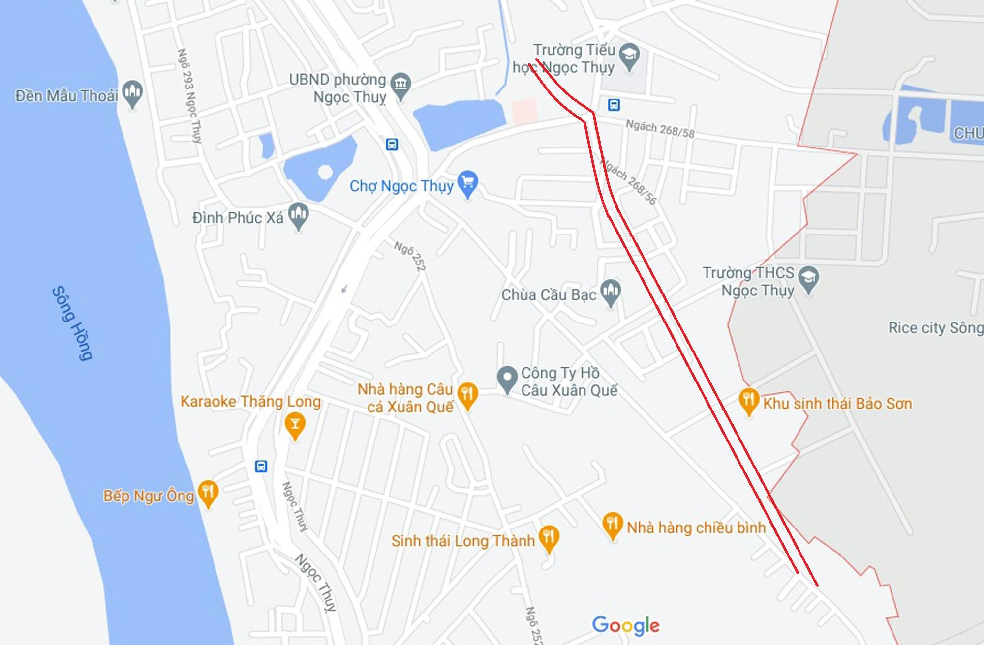 Ba đường mở theo quy hoạch ở phường Ngọc Thụy, Long Biên, Hà Nội (phần 3) - Ảnh 10.