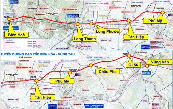 Dự án cao tốc Biên Hòa - Vũng Tàu gần 19.000 tỷ đồng được đề xuất thẩm định - Ảnh 1.